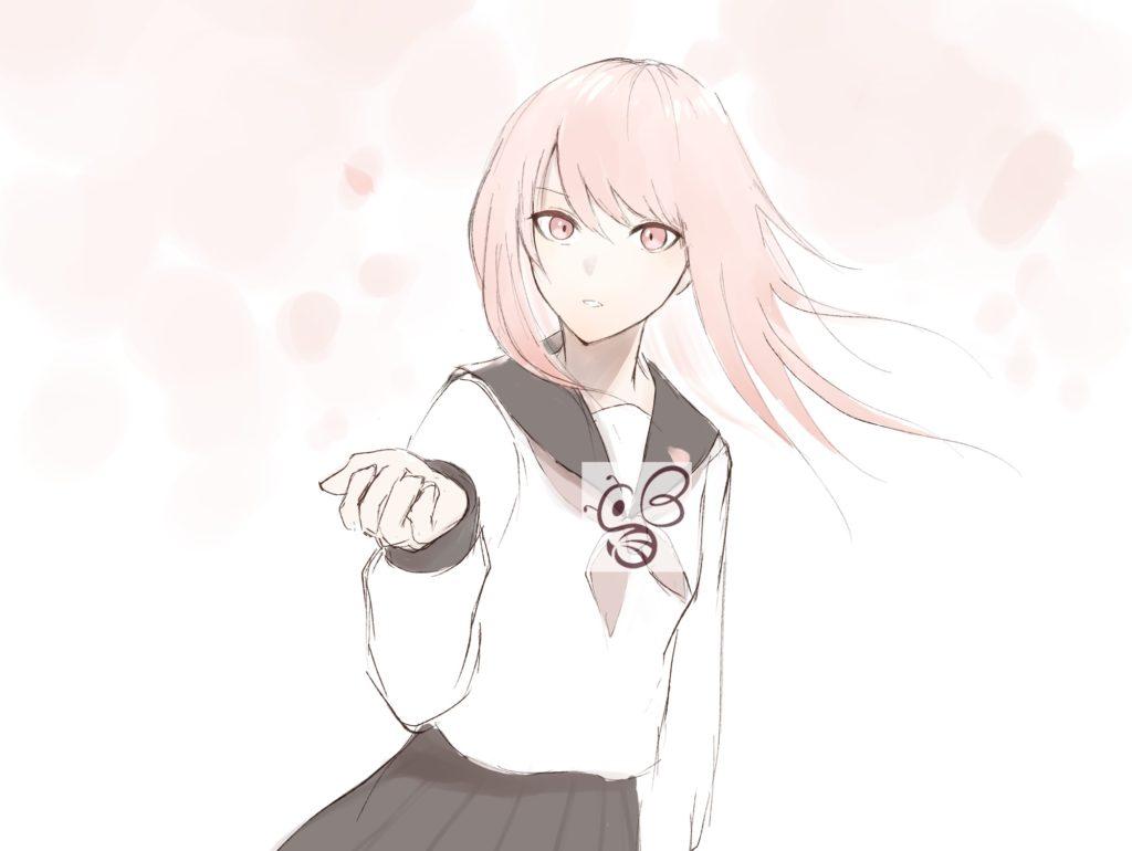 キャラクター_桜_女性
