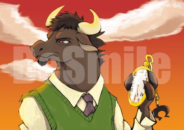 3化けた牛