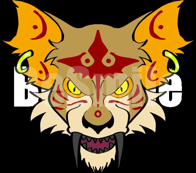 9タトゥー:バケネコ